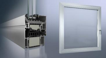 Finestra alluminio elevato isolamento