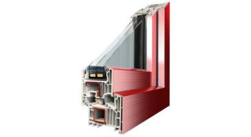Serramenti in PVC con rivestimento alluminio