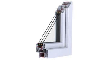 Finestre in PVC alte prestazioni